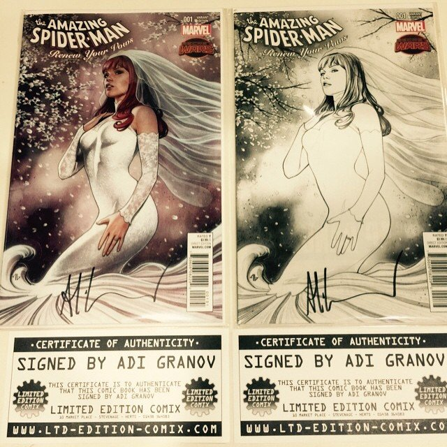 Big thanks to #adigranov for signing our Legacy Edition variants!