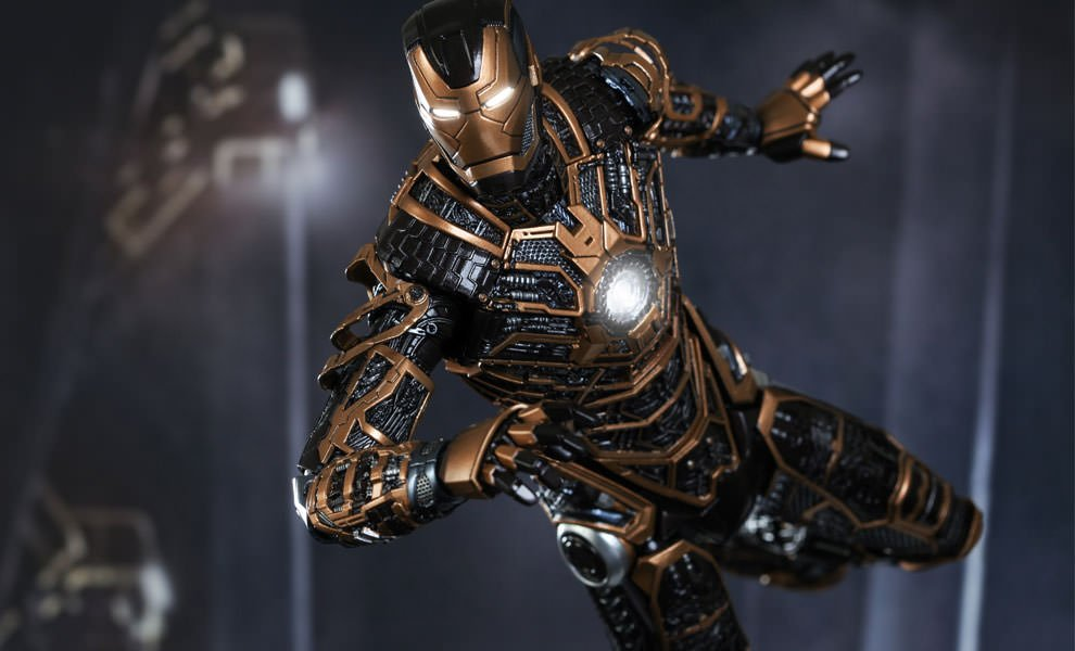 Iron Man Mark XXXIX Starboost SixthScale Figure t ffe4a55c7f5