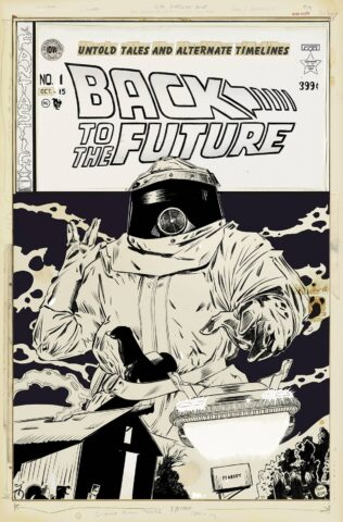 back to the future cover e
