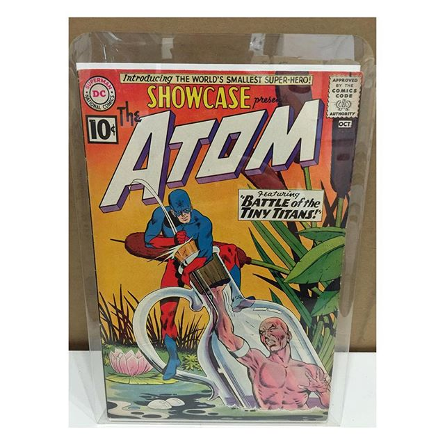 Newest arrival #showcase34 1st Atom #dcshowcase