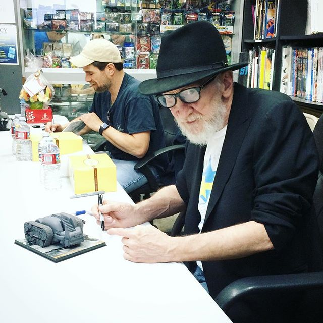 The Legend is @legacycomicsandcards #frankmiller