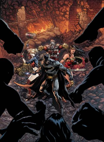 Justice League Suicide Squad Regular Cover