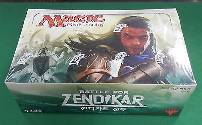 MTG 36 packs Magic the Gathering Battle for Zendikar Booster Box Display
