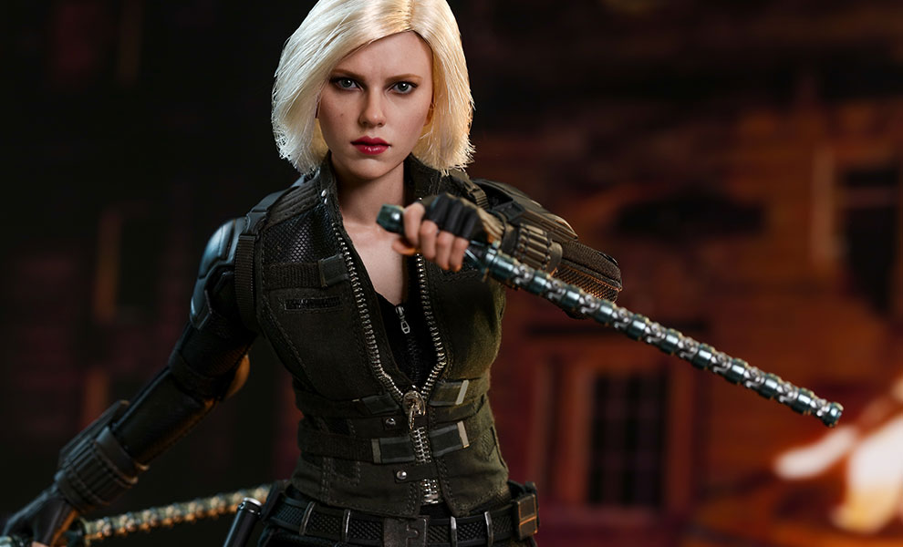 Black Widow Avengers Infinity War Movie Masterpiece Series Sixth Scale Figure Hot Toys