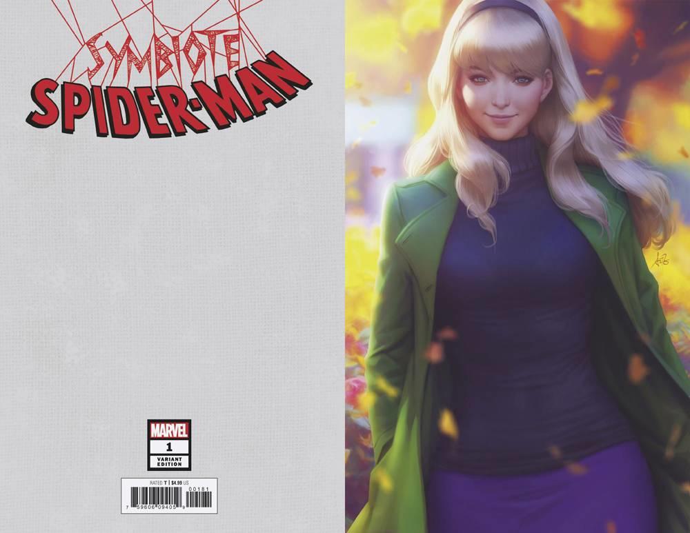 SYMBIOTE SPIDER-MAN #1 1:50 VARIANT BLACK SUIT MARVEL COMICS 4//10//2019