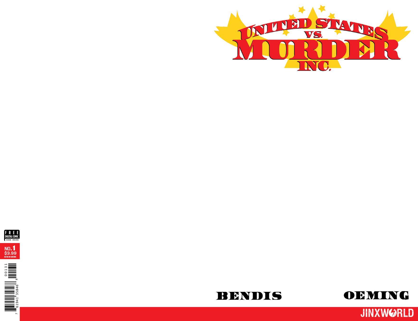 of 6 Variant Cover United States vs Murder Inc #1