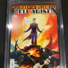 Year of the Villain Hell Arisen #3 1st Full Appearance of Punchline
