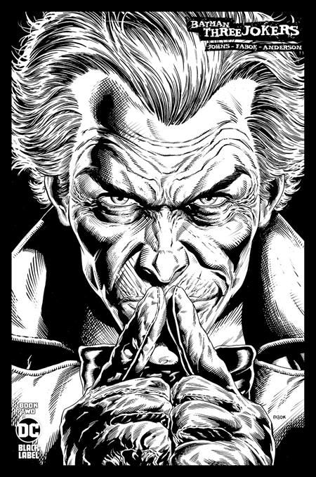 BATMAN THREE JOKERS #2 Behind Bars Premium Variant FABOK NM FREE card DC Comics