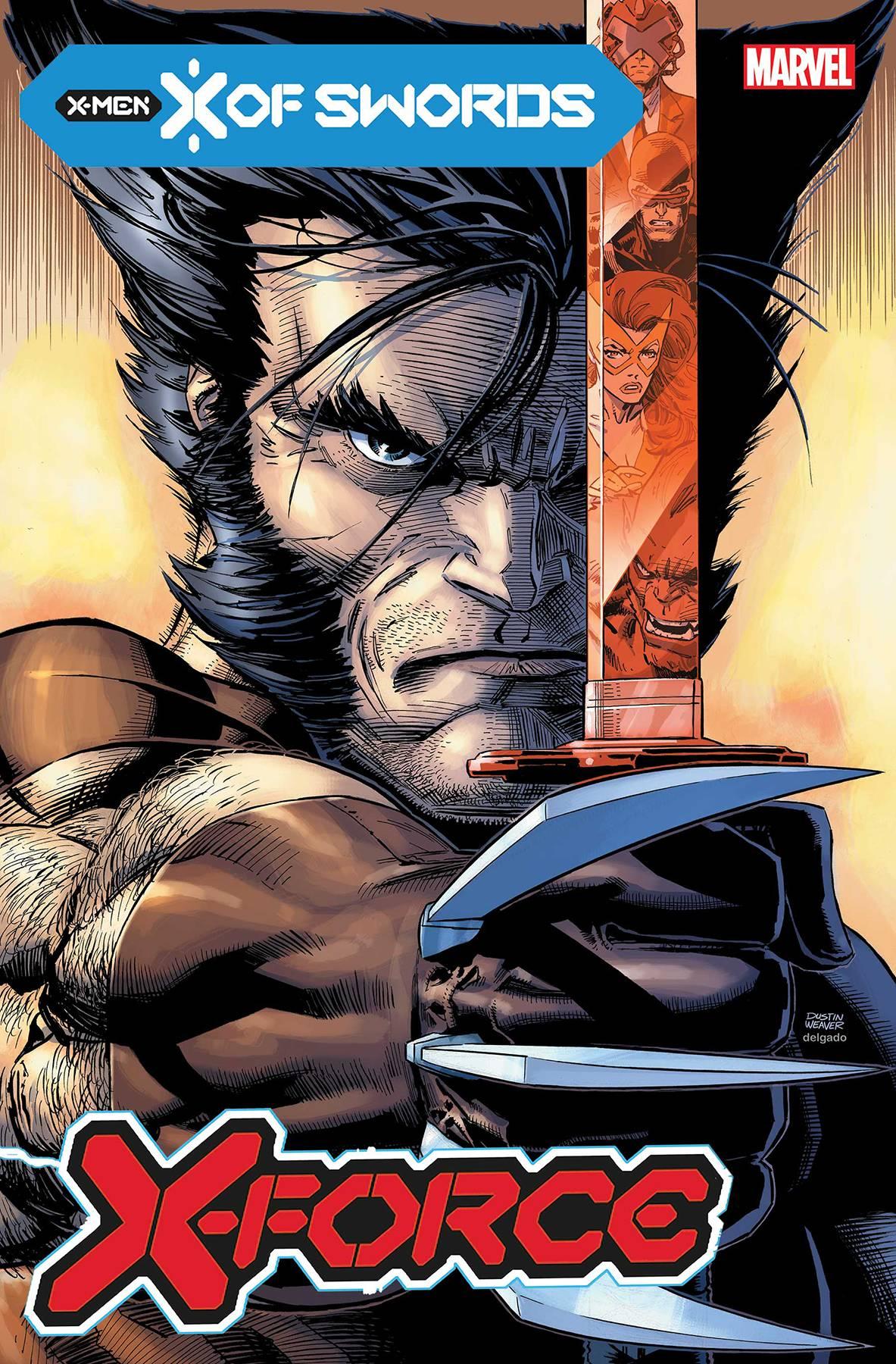 X-FORCE #2 MARVEL COMICS//2020 DUSTIN WEAVER MAIN COVER